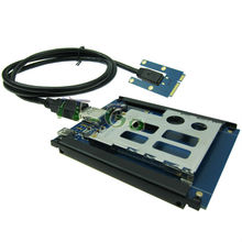 New item Mini pcie to Express Card 54mm 34mm converter laptop mPCIe to expresscard PCMCIA Type II slot adapter