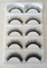 Wholesale Cheap Human Hair Lashes Private Label False Eyelashes Loose Strip Human Hair Eyelashes