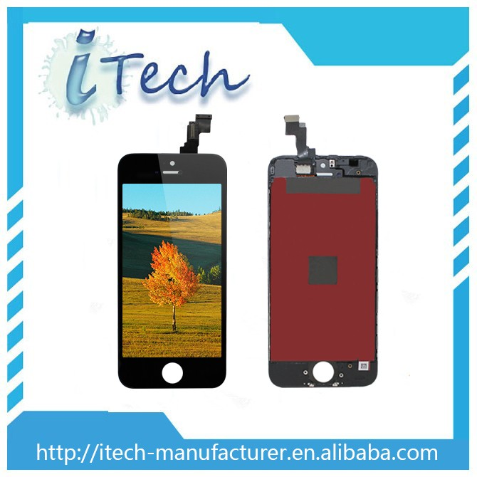 Hot sale item assembly for iphone 5s lcd,assembly lcd for ihpone 5s