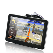 "7"" Touch Screen 256M/8GB CPU800MHZ Multi-language Free Maps Car GPS Navigation Navigator Vehicle Tracking Device"