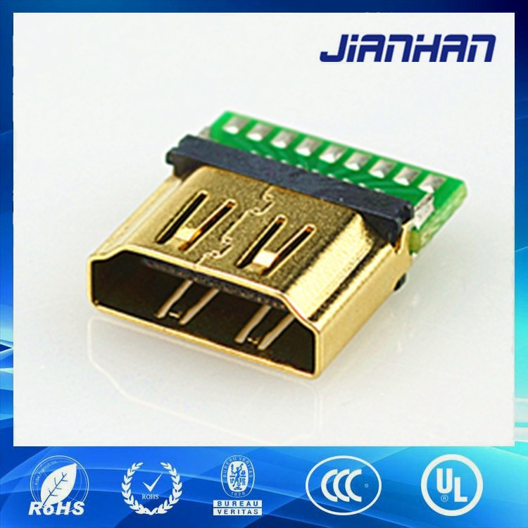 alibaba wholesale hdmi header connector with electrical for audio and video return