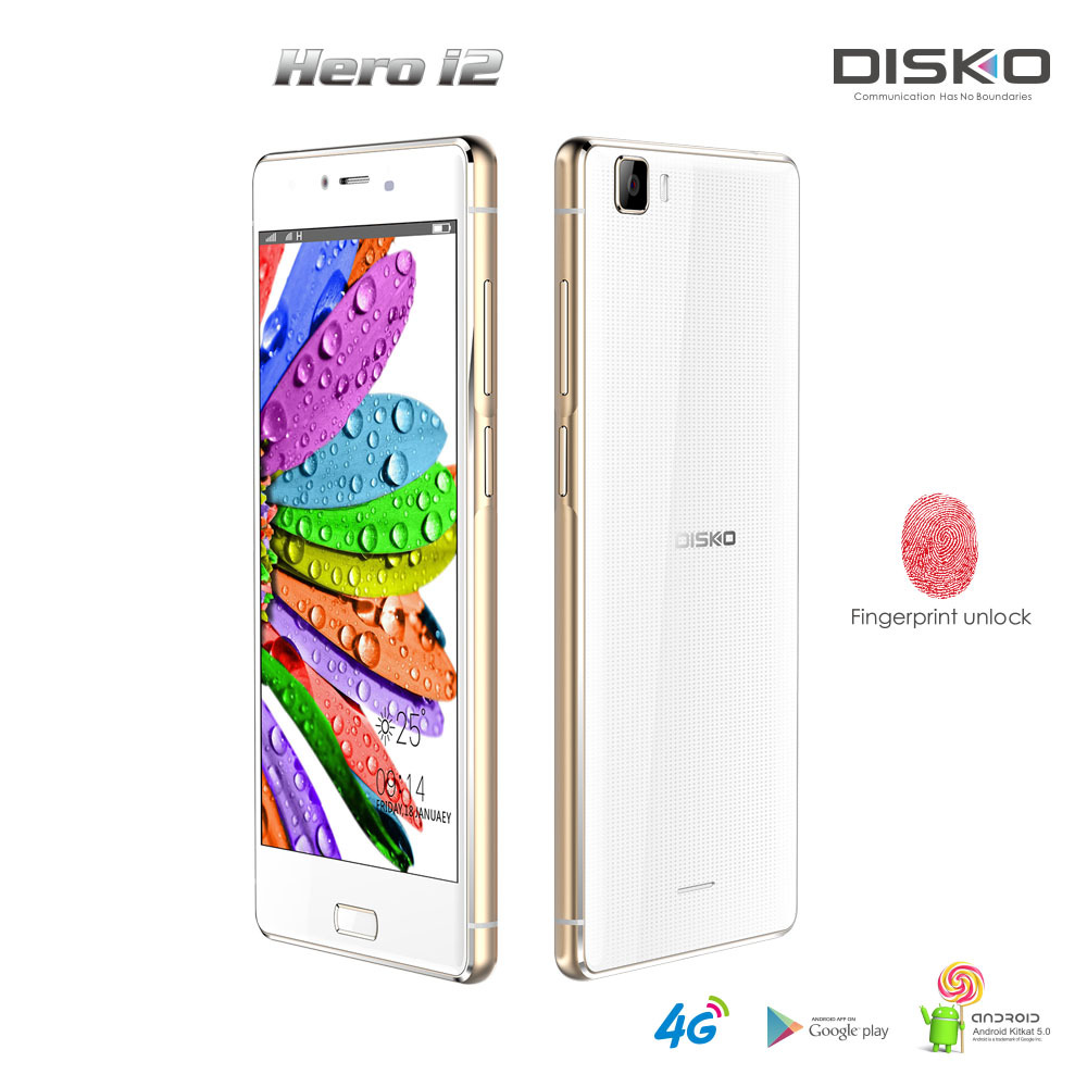 "Original hotknot 5.5"" ips HD Octa Core 4G lte smartphone 13MP 2GB RAM 16GB ROM fingerprint mobile phone"