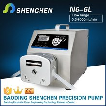Semi automatic peristaltic pump for juice,semi automatic rotary pump for concrete,different drive roller pump for lip balm