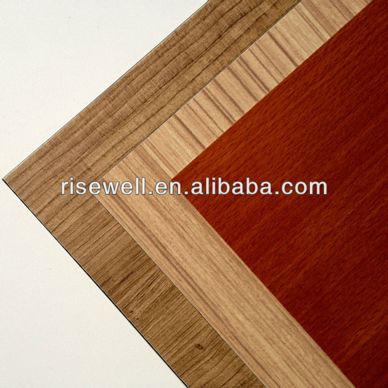 HPL wood veneer waterproof toilet cubicle partition board