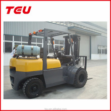TEU 5ton forklift with LPG