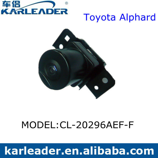 Car Front View Camera 728*488 Pixel Toyota Alphard Distortion Correction 180 Degree Bid Wide Angle