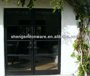 French style wrought iron double entry door buy wrought for French style double doors