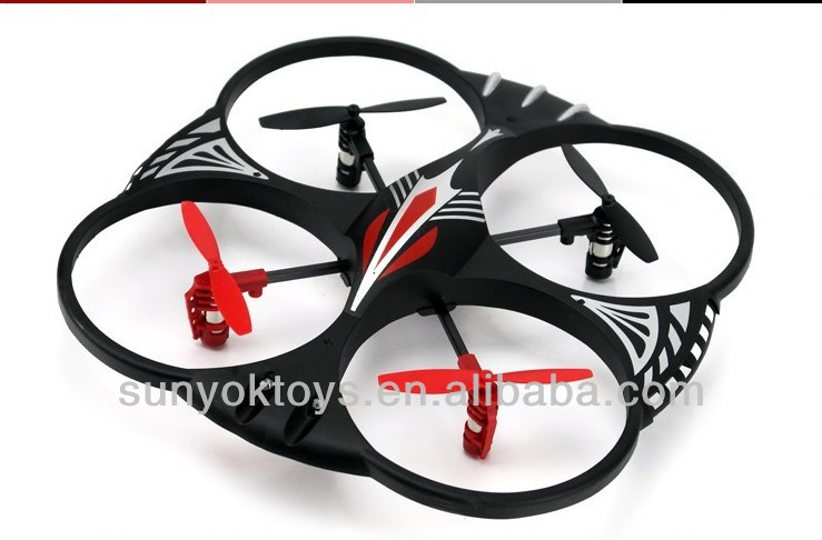 2013 new design rc 2.4G 4CH scorpion 4 axis ufo with Gyro,rc ufo quad helicopter YD-716