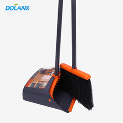 DOLANX Home Cleaning Floor Brooms And Dustpan Angle Broom