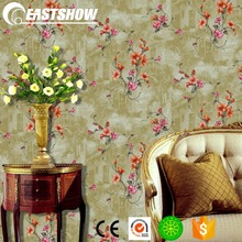 Deep Embossed PVC Wallpaper for Home Decoration (350g/sqm 53CM*10M)