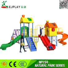 Colorful swing designed cheap price children Outdoor playground equiqpment for sales -NATURAL PARK SERIES