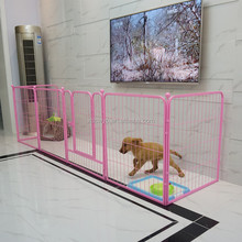 folding square tube pet exercise play pen for dog made in china