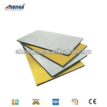 Alusign cheapest modernly designed insulated brushed exterior wall cladding building mateirals