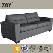 Double Size Futon Leather And Fabric Sofa Cum Bed Designs ZOY-90710