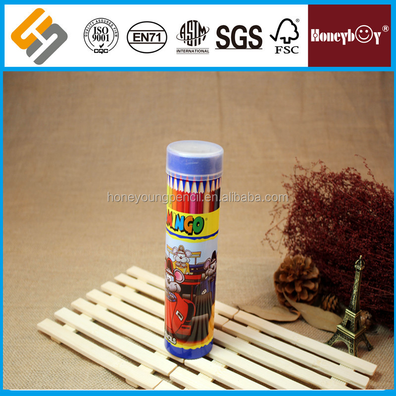 Smart Design Crayons Natural Colour Pencil in Iron Box