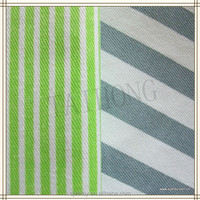 blue and white striped fabric cotton