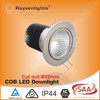 10W/12W/15W citizen chrome/white/silver saa cob led ceiling down light with 92 mm cut out,Ra>80