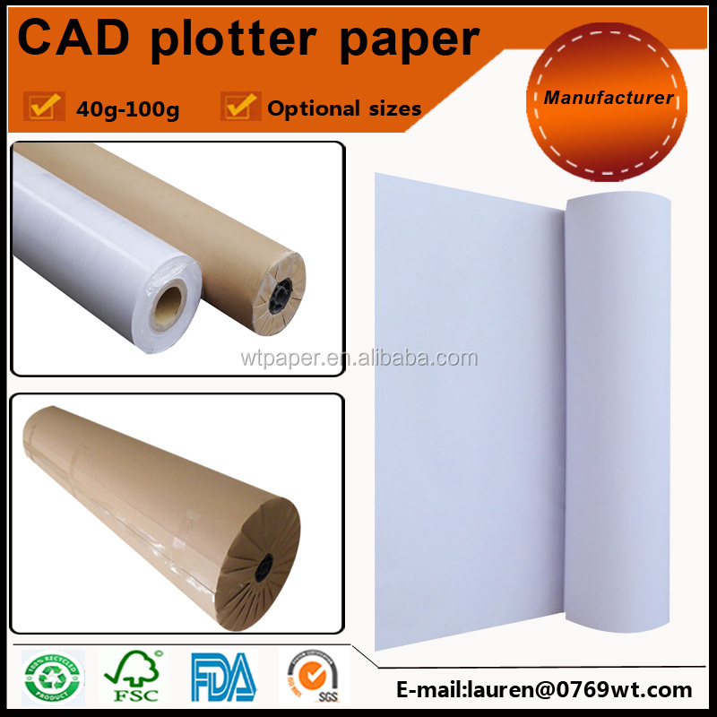 Plain China marker paper for CAD drawing
