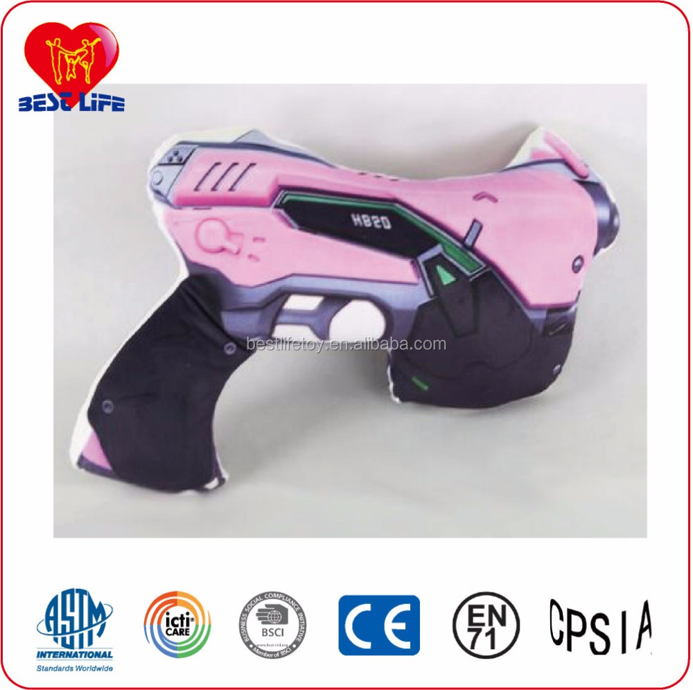 Christmas gift ideas gun plush toy for boyfriends