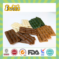 Chicken Flavor Wholesale Bulk Sugar Free Canine Pet Food Chocolate Cute Pet Chew Toy