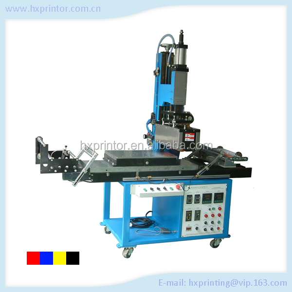 Latest album edge hot stamping machine