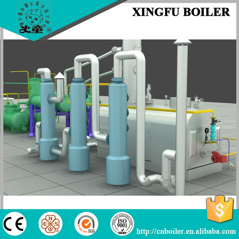 Pyrolysis tire and plastic oil distillation to diesel machine
