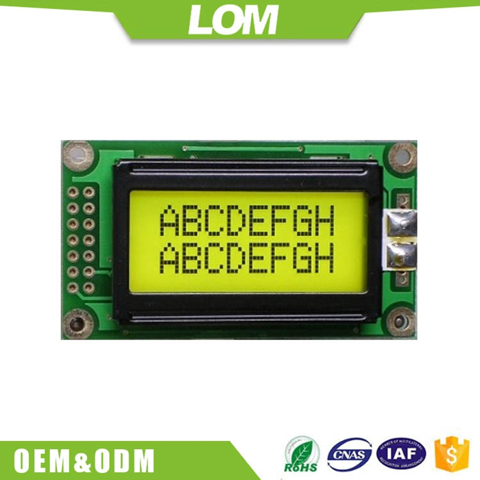 Wholesale character lcd display module 8x02