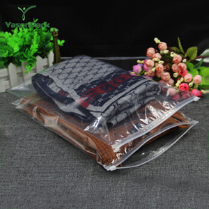Easy to carry plastic clear packaging compression vacuum bags for clothes