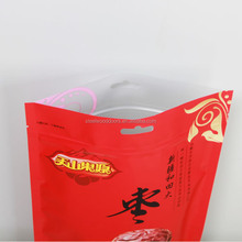 customized Snack Food Packaging Bags , Food Grade Resealable Plastic Bags With Handles