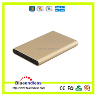 External 2.5 hdd box for 1TB sata hard disk drive case custom aluminum hdd enclosure