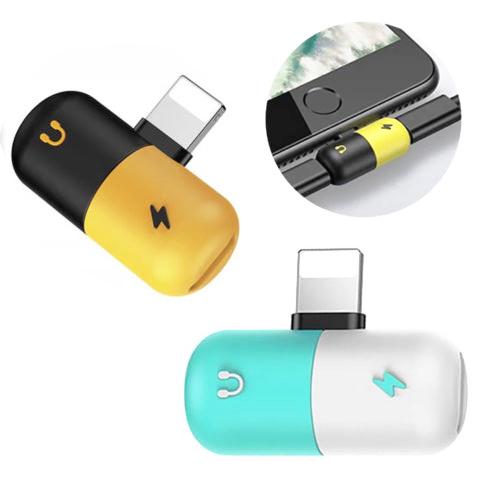 2 en 1 Double Lightningg Adaptateur Répartiteur Pour Iphone Xs/Xs Max/Xr/X/8/ 7 Plus - ANKUX Tech Co., Ltd