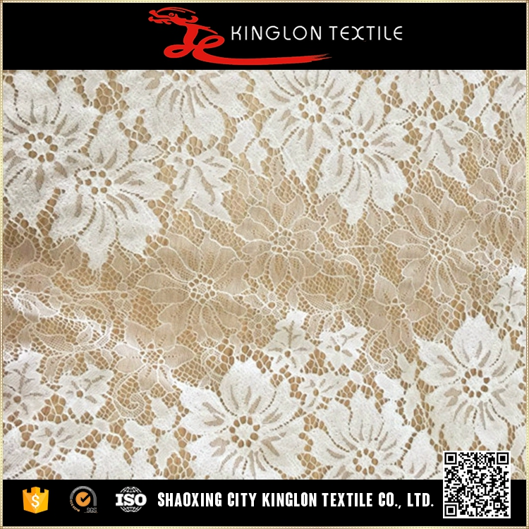 Factory Price Hot Selling Custom Wedding Guipure Textile Lace Dress Fabric Wholesale