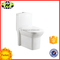 bathroom siphonic one piece ceramic sanitary ware toilet fittings
