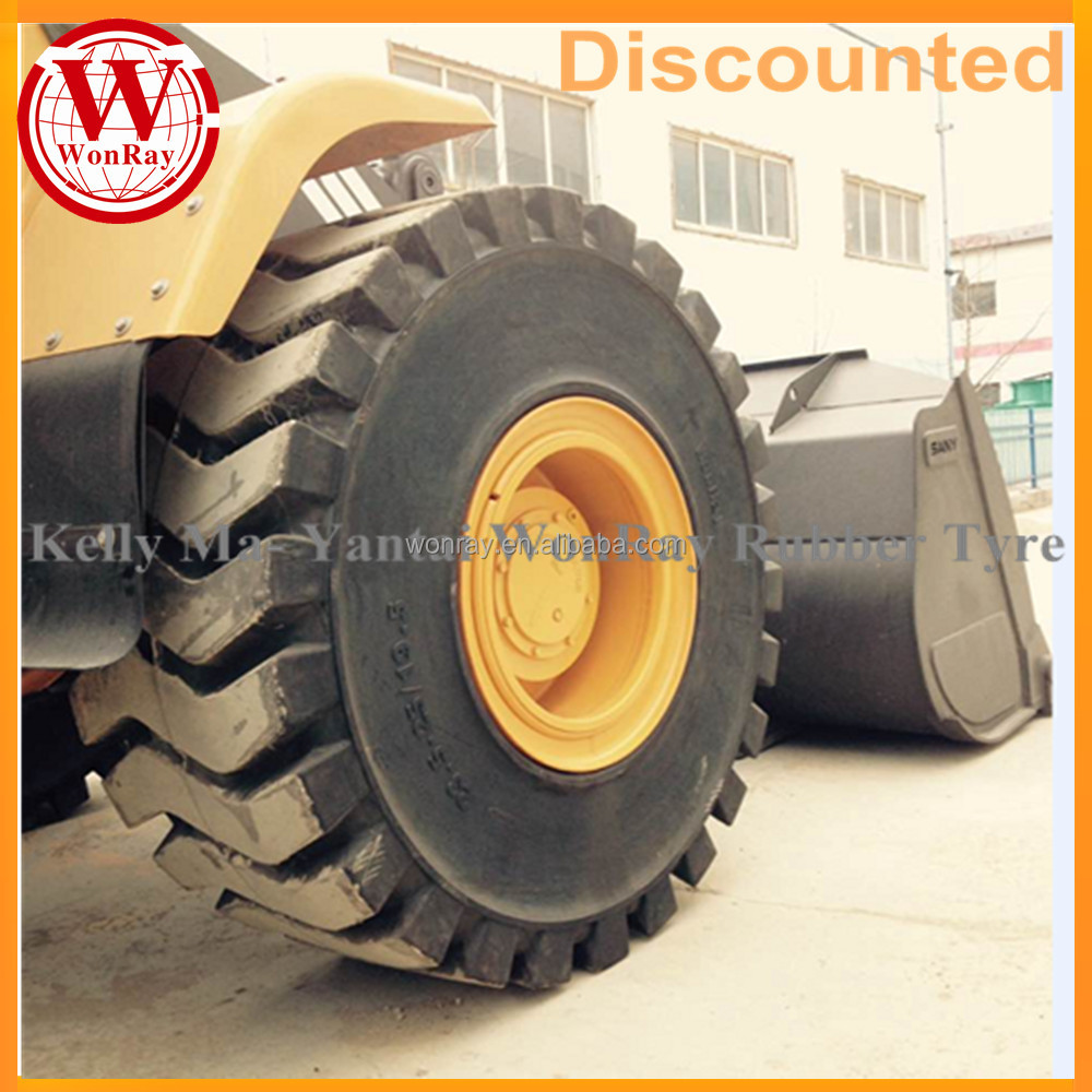 solid otr tires 17.5r25 17.5x25 17.5 25 skid steer wheel loader parts for sale