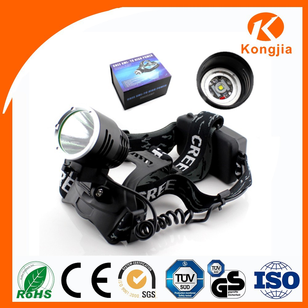Top Lamp for Night Hunting High Power Aluminium Led Miner Headlamp