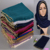2016 Latest Fashion Women Ladies' Plain Cotton Linen Beaded Hijab Scarf
