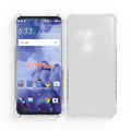 Full Clear Soft Gel TPU Back Protective Cover For HTC U11 Plus Case