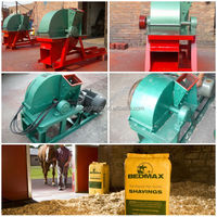 2014 popular wood shaving machine for horse