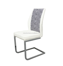 french louis style White Pu reclining wholesale dining chair