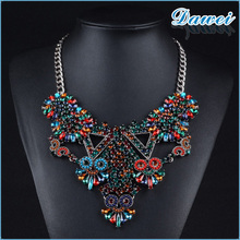 korean designer jewelry colorful charming choker necklace design luxury party necklace jewelry