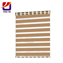 Wholesale best selling high quality rainbow zebra roller blinds