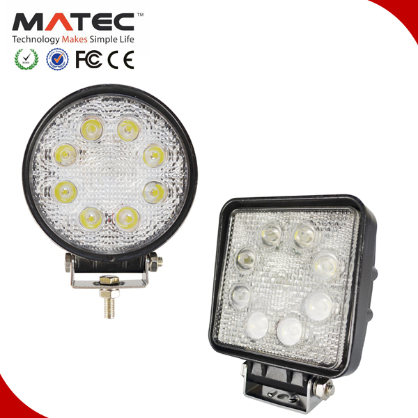 Two type best price led work lamp magnetic base or universal led work light 24w 27w 40w 48w 51w 60w 70w 96w 144w 185w