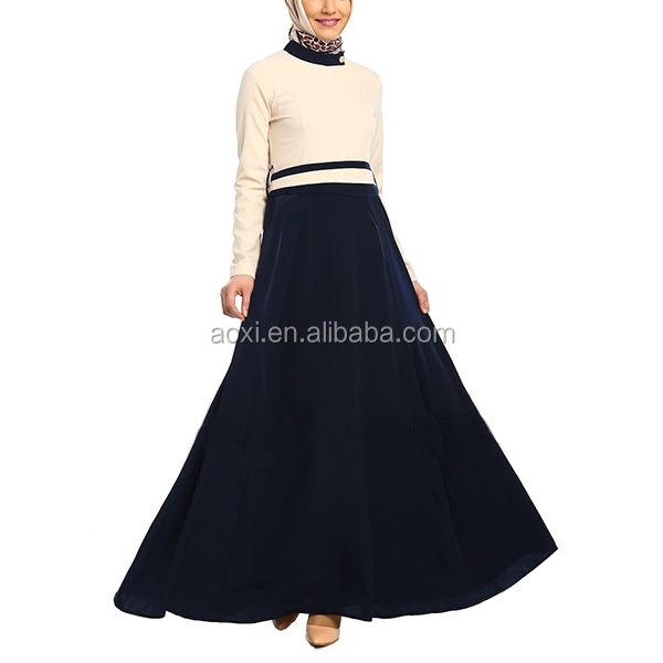 China Supplier fashion women fashion wholesale islamic maxi dress 2014 new dubai latest abaya designs