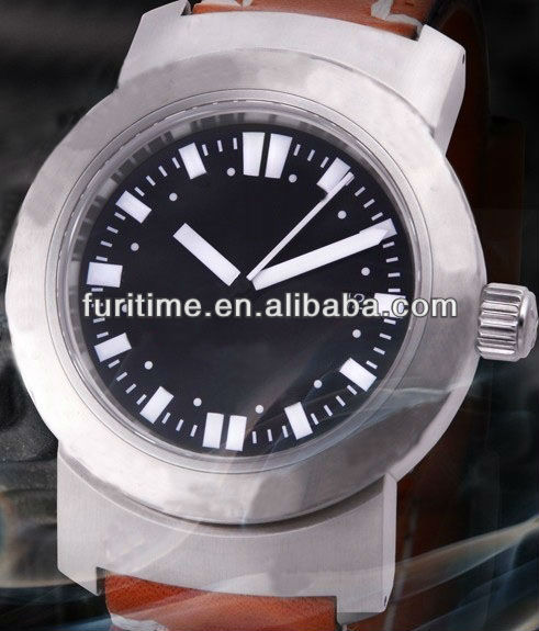 stainless steel back water resistant watch 2013 new mens watch