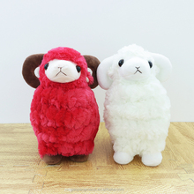 Promotional Gift Cute Cheap toy model animals sheep plush toys for claw machine
