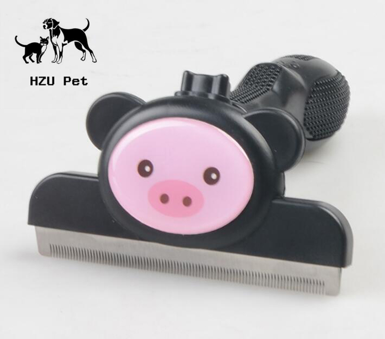 Pet brush Deshedding Tool pet Grooming Brush Shedding Tools For Dogs And Cats