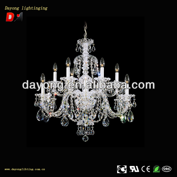 New product 12 lights clear crystal egypt chandelier