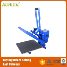 Auplex flat transfer press machine for clothing fabric sublimation machine heat press