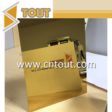Gold Mirror Stainless Steel Interior Design Sheet Price Per Kg