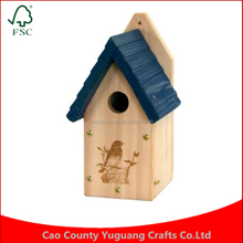 Customize Hanging Barn wren Garden Bluebird Wood Bird House